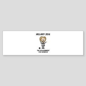 Anti-Hillary Bumper Sticker