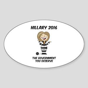 Anti-Hillary Sticker