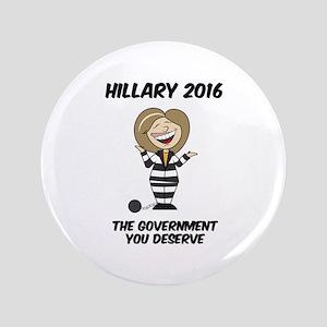 Anti-Hillary Button