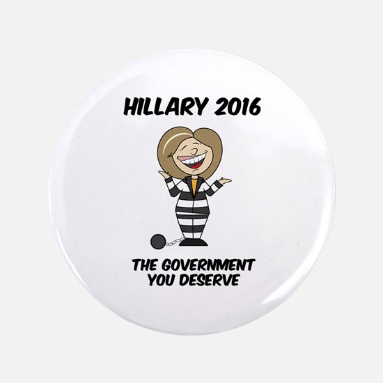 Anti-Hillary Button
