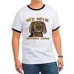 Red Neck Guard Dog Ringer T