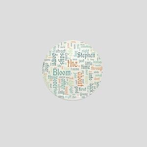 Ulysses Word Cloud Mini Button