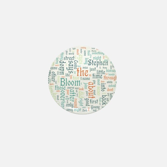 Ulysses Word Cloud Mini Button