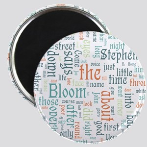 Ulysses Word Cloud Magnets