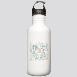 Ulysses Word Cloud Water Bottle