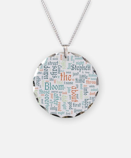 Ulysses Word Cloud Necklace