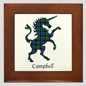 Unicorn - Campbell Framed Tile