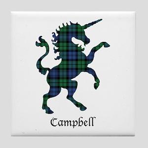 Unicorn - Campbell Tile Coaster