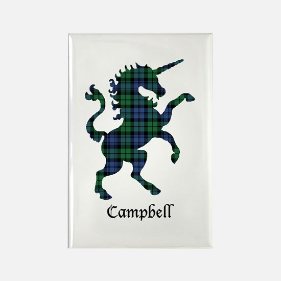Unicorn - Campbell Rectangle Magnet