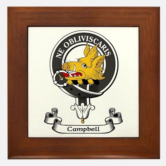 Badge - Campbell Framed Tile