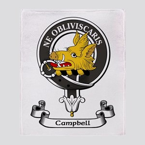Badge - Campbell Throw Blanket