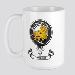 Badge - Campbell Large Mug