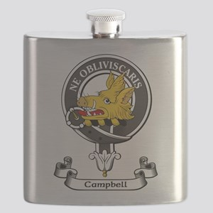 Badge - Campbell Flask
