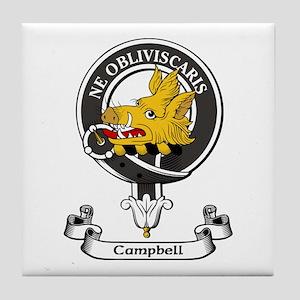 Badge - Campbell Tile Coaster