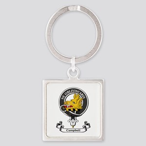 Badge - Campbell Square Keychain