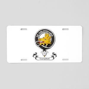 Badge - Campbell Aluminum License Plate