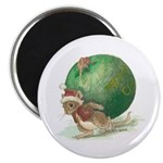 Christmas Mouse Magnet