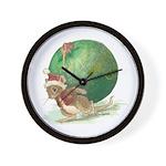 Christmas Mouse Wall Clock