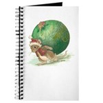 Christmas Mouse Notebook