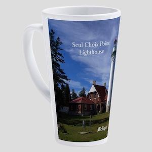 Seul Choix Point Lighthouse 17 Oz Latte Mug
