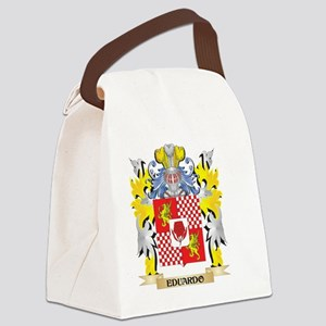 Eduardo Coat of Arms - Family Cre Canvas Lunch Bag