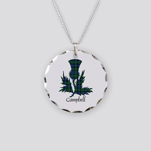Thistle - Campbell Necklace Circle Charm