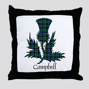 Thistle - Campbell Throw Pillow