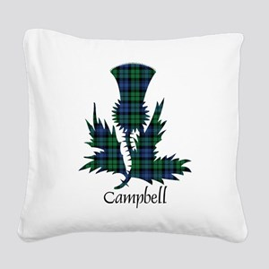 Thistle - Campbell Square Canvas Pillow