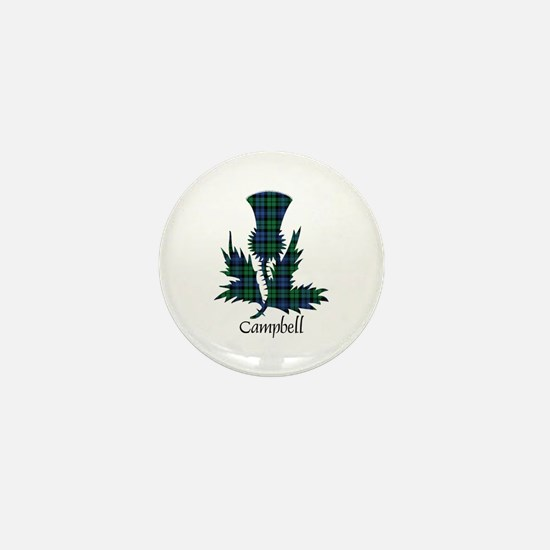 Thistle - Campbell Mini Button
