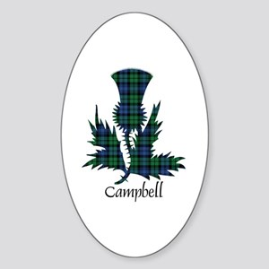 Thistle - Campbell Sticker (Oval)