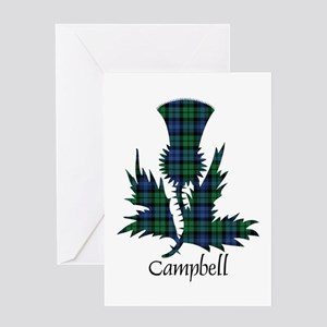 Thistle - Campbell Greeting Card