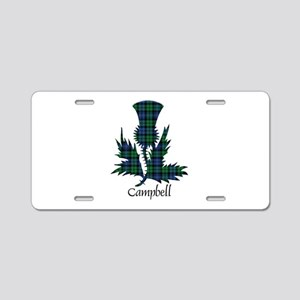 Thistle - Campbell Aluminum License Plate