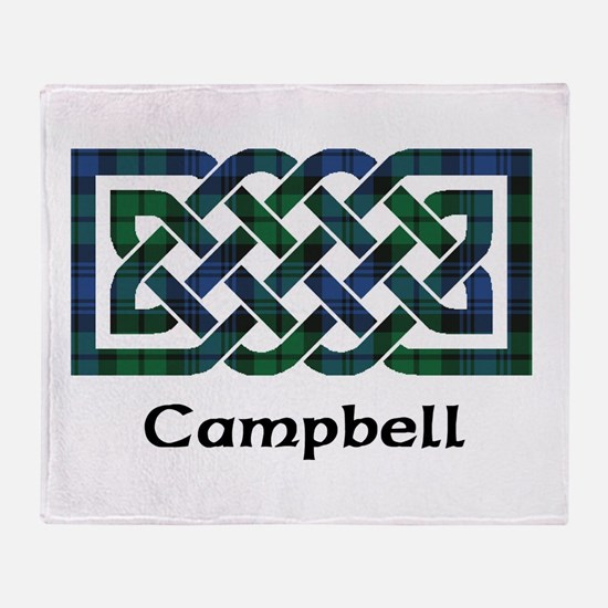 Knot - Campbell Throw Blanket