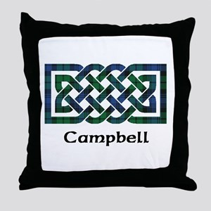 Knot - Campbell Throw Pillow