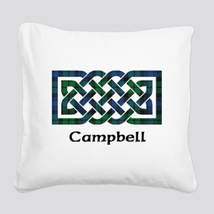 Knot - Campbell Square Canvas Pillow