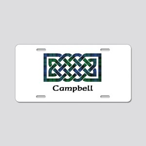 Knot - Campbell Aluminum License Plate