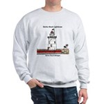 Harbor Beach Lighthouse Sweatshirt