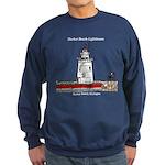 Harbor Beach Lighthouse Sweatshirt (dark)