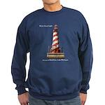 White Shoal Lighthouse Sweatshirt (dark)