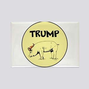 Donald Trump is a pig... Magnets