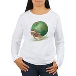 Christmas Mouse Women's Long Sleeve T-Shirt