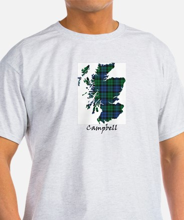 Map - Campbell T-Shirt