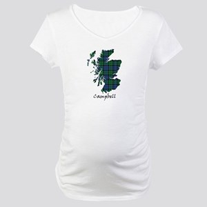 Map - Campbell Maternity T-Shirt