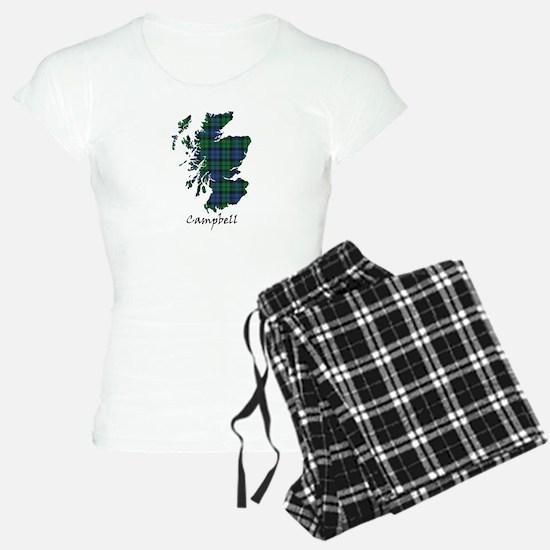Map - Campbell Pajamas