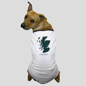 Map - Campbell Dog T-Shirt