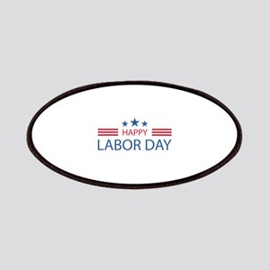 Happy Labor Day Patches