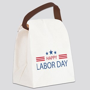 Happy Labor Day Canvas Lunch Bag