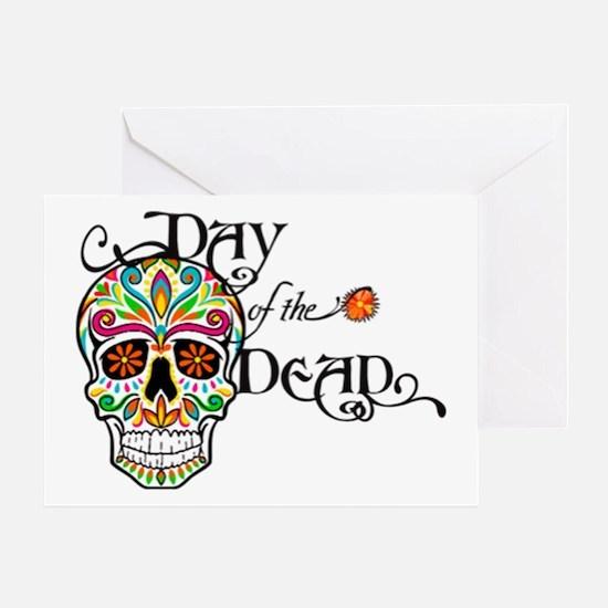 Cute Day dead Greeting Card
