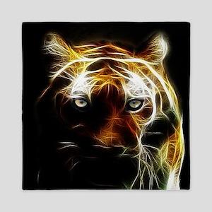 Glow Tiger Queen Duvet