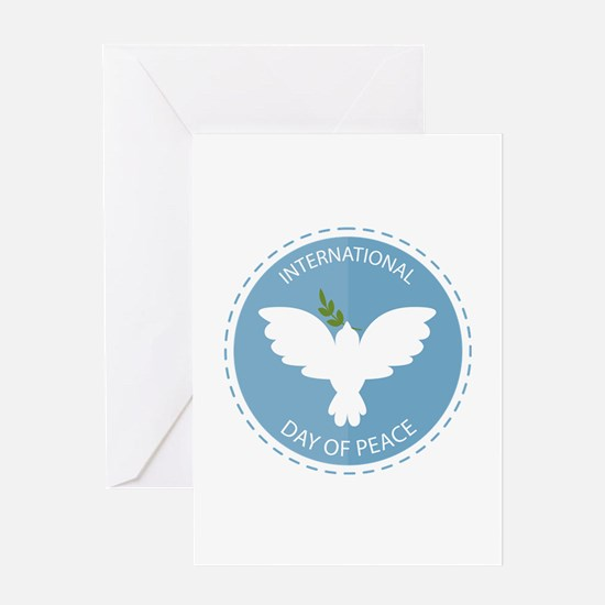 Day Of Peace Greeting Card